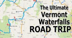 Here is an amazing full circle road trip seeing some of the most incredible waterfalls in central/northern Vermont in under 6 hours.  Go ahead... Amaze yourself!