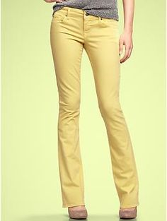 skinny boot jeans by Gap