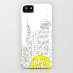 New York, New York iPhone Case by galgalosh - $35.00