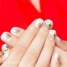 Gobble Gobble  Cassiekelly.jamberrynails.net  Jamberry Nails