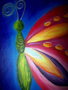 Ideas Butterfly Art For Kids Canvas Butterfly Painting, Butterfly Art, Butterflies, Monarch Butterfly, Kids Canvas, Canvas Art, Canvas Paintings, Tree Canvas, Canvas Ideas