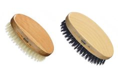 Fine men's hair brushes. Attention to detail counts!