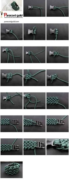 Conquistador paracord bracelet - Single strand, but not easy to unravel