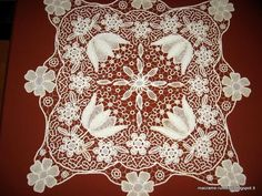 macrame rumeno point lace - Recherche Google