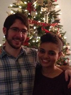 My wonderful son and his beautiful girlfriend