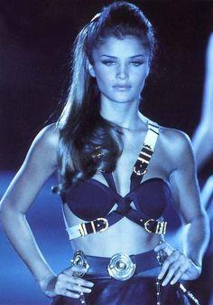 Helena Christensen for Gianni Versace (1990s)