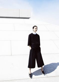 Editorial for Creem Magazine  Photo by Sofia Colvin  Styled by Lotte Sindahl #minimalism #minimal #clean #minimalist #lines