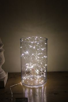 fairy lights in vases - Google Search