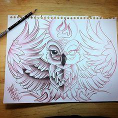 Buho Tattoo, Tattoo P, Owl Tattoo Drawings, Bff Drawings, Dark Art Drawings, Art Drawings Sketches, Tattoo Sketches, Body Art Tattoos, Family Tattoo Designs