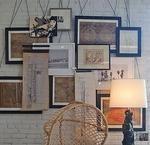 10 maneiras de pendurar quadros sem furar a parede