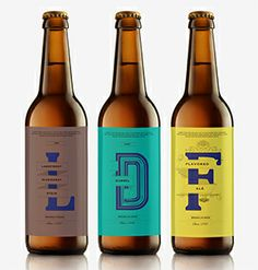 Beer Bottle Package by Michelle Kang, via Behance