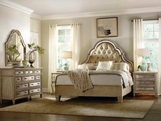 Gold and White Teen Bedroom Ideas