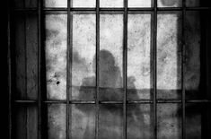 Curtain on prison cell