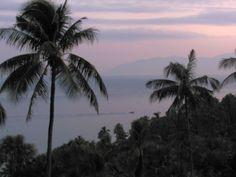 Sunrise from Coco Beach resort, Philippines