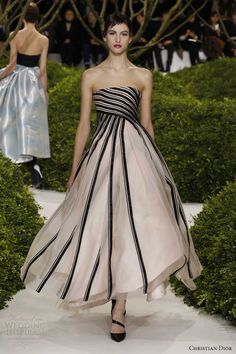 christian dior spring 2013 couture strapless dress