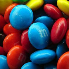Blue M and M's