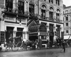 Inch Print - High quality prints (other products available) - The exterior of the Gaiety Theatre on the Strand, London. (Photo by London Stereoscopic Company/Getty Images) - Image supplied by Fine Art Storehouse - Photograph printed in the USA Old Pictures, Old Photos, Vintage Photos, Fine Art Prints, Framed Prints, Canvas Prints, London History, Ireland Homes, Gloss Matte