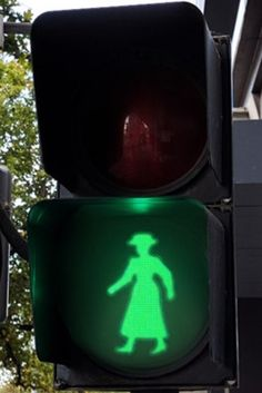Melbourne will be the first Australian city to have a female on a street pedestrian signal, all in honour of International Women's Day