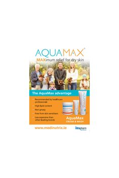 Aquamax is very effective treatment for Dry Itchy Skin, Eczema & Psoriasis http://medinutrix.ie/product/