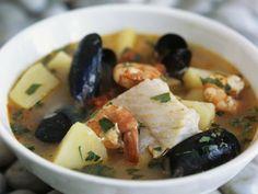 Italienische Fischsuppe ist ein Rezept mit frischen Zutaten aus der Kategorie Garnelen. Probieren Sie dieses und weitere Rezepte von EAT SMARTER!