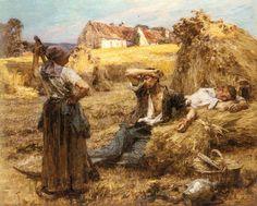 Léon Augustin Lhermitte - Le Réveil du Faucheur.jpg