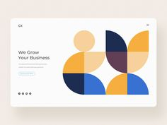 CX Outsourcing Company designed by Artem BadBrother Pravda. Connect with them on Dribbble; the global community for designers and creative professionals. Web Design, Global Design, Layout Design, Logo Design, Graphic Design, Abstract Shapes, Abstract Pattern, Geometric Patterns, Identity Design