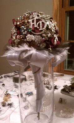 broach bouquet, made by me!