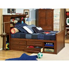 captains beds - thinking of making my own platform bed with storage under for tman's room!