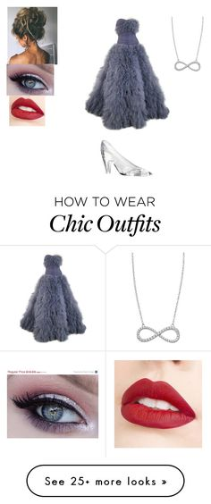 """""""Untitled #208"""" by mcderr on Polyvore featuring Marchesa, Jouer and Lafonn"""