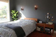 Slaapkamer Rood Grijs : Roo woonkamer en slaapkamer onegociodacerto