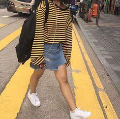 #Korean Fashion #Kdailystyle #mixxmix_usa #Akiwarinda