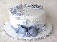 Winter Garden - by Noreen @ CakesDecor.com - cake decorating website