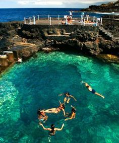 1000 images about piscinas naturales on pinterest porto for Piscina natural tenerife