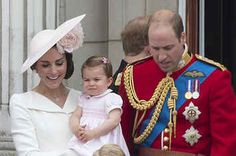 Princess Charlotte Made Her First Public Appearance During The Queen's 90th Birthday Celebrations