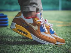 sweetsoles: Nike Air Max 90Curry (by soggiu23)