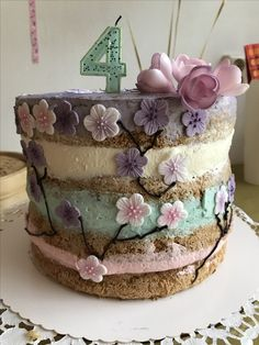 Asian inspired Princess  birthdaycake