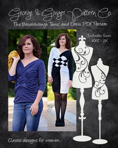 The Breakthrough Tunic and Dress Women's by GeorgeandGingerCo