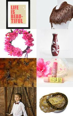 Spring! Life is beautiful! by Natalie on Etsy--Pinned with TreasuryPin.com
