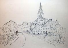 Zeichnung Ensheim