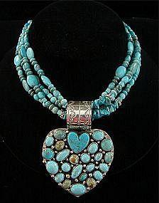 Navajo turquoise | Rocki Gorman