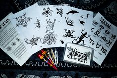 Henna Tattoo DIY Kit by JensHennaArt on Etsy, £10.00