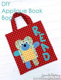 DIY Applique Book Bag with Jennifer Jangles