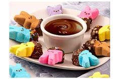 Chocolate Fondu Peeps :)