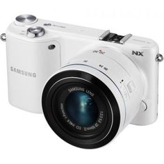 Shop Samsung Compact System Camera with Lens White at Best Buy. Find low everyday prices and buy online for delivery or in-store pick-up. 3d Camera, Camera World, Wi Fi, Samsung Digital Camera, Digital Slr, Home Tv, Electronic Toys, Cool Things To Buy, Digital Cameras