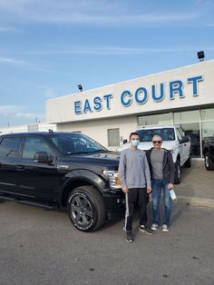 Alex and Daniel Picking up their #BrandNew #2020 #F150 #Sport #302A They got Ontario's best deal on this truck from #AsimMalik , Sr Product Specialist at #EastCourtFordLincoln Last 24 hours to get employee pricing deals on #2020 & #2021 inventory! Call us at 416-292-1171 to know more. Driving Test, 2 In, Lincoln, Truck, Ford, Brand New, Trucks