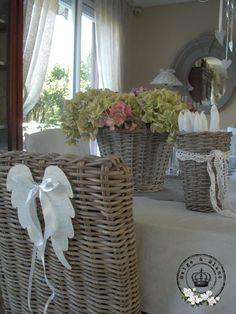 hortensia op tafel prachtig.