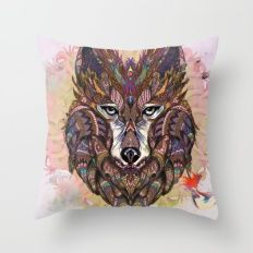 Shaman's Whisper Throw Pillow