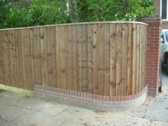 Curved Wood Fence Panels