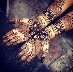 Wedding henna, bridal mehndi