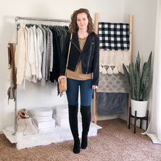 Easy Fashion Hacks Fall/Winter Date Night Outfits - Capsule Wardrobe Style - Dani Thompson - Business Casual Capsule Wardrobe Work, Capsule Outfits, Work Outfits, Black Outfits, Cute Sweater Outfits, Sweater Fashion, Classic Outfits, Classic Style, Minimal Fashion